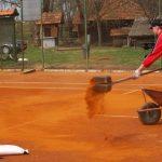 Priprema tenis terena za sezonu 2013